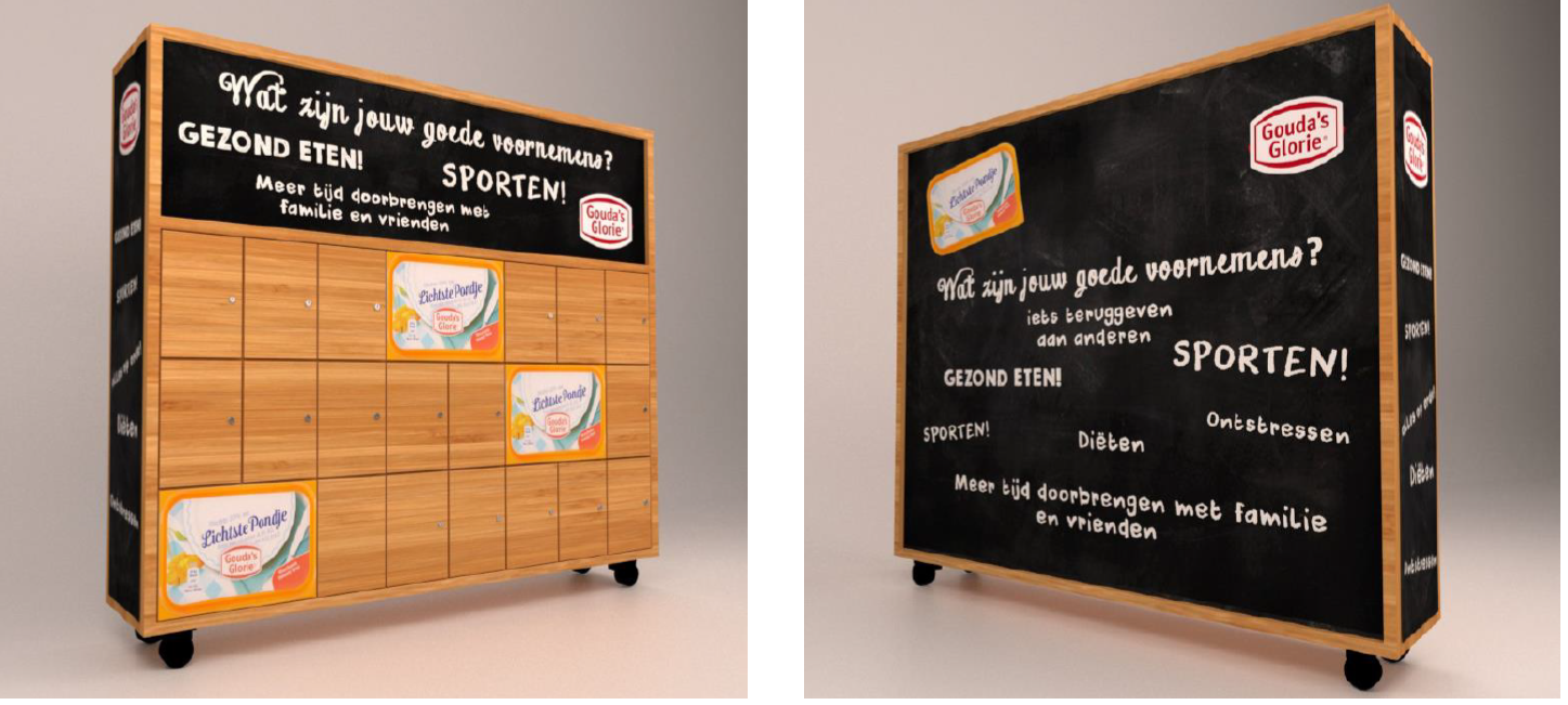 How PSfm spread the word of Gouda's Glorie low fat spread
